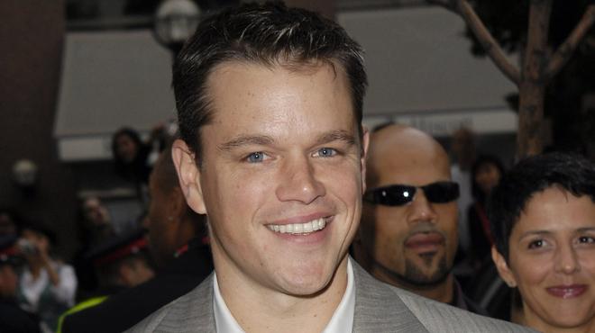 Matt Damon papa d'une petite fille !