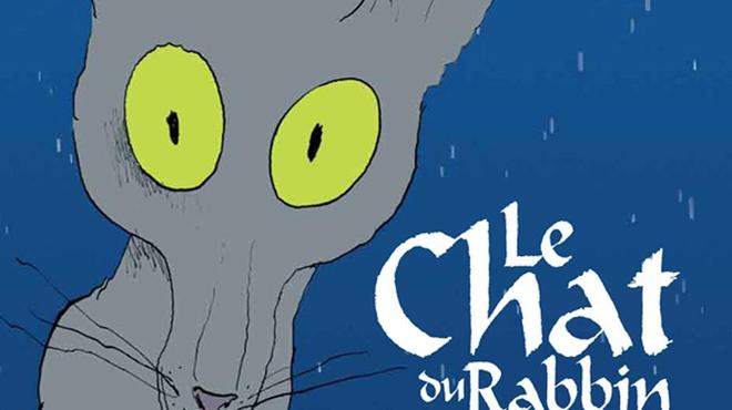 Une affiche teaser pour Le Chat du Rabbin de Joann Sfar