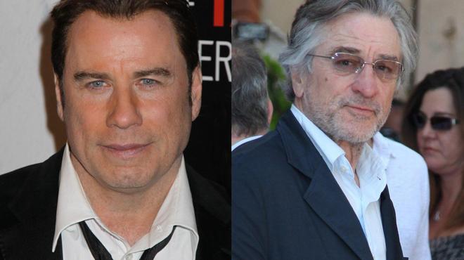 John Travolta va perturber la retraite de Robert De Niro