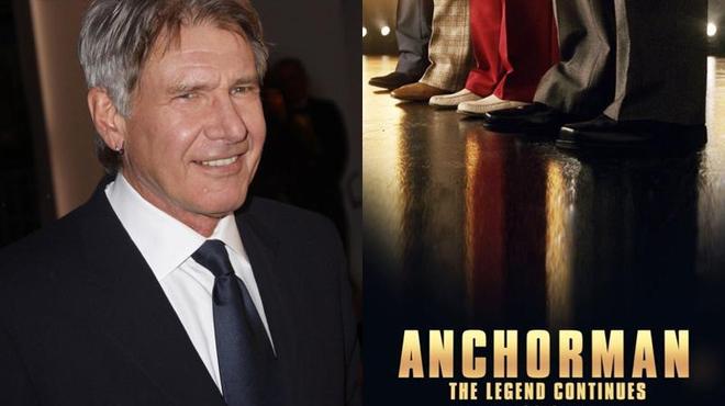Harrison Ford rejoint la suite des aventures de Ron Burgundy (vidéo)