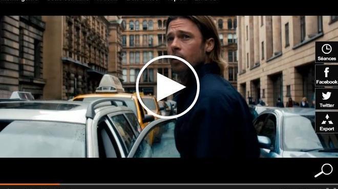 Box-Office 14h : World War Z envahit Paris