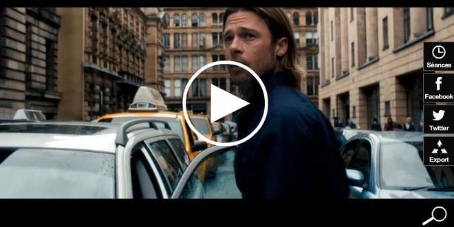 World War Z : La Fête du Cinéma offre meilleur démarrage de 2013 à Brad Pitt