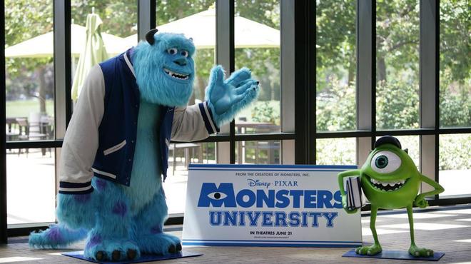 Les studios Pixar refont la déco pour Monstres Academy (Photos)