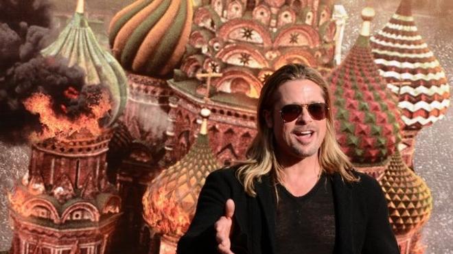 Brad Pitt enregistre son plus gros succès en tuant des zombies