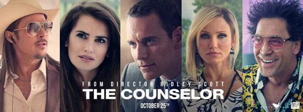 The Counselor : Ridley Scott torture Michael Fassbender (nouvelle bande-annonce)