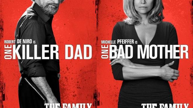 Malavita : Portraits de famille pour Robert de Niro et Michelle Pfeiffer