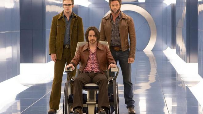 X-men Days of Future Past : Wolverine, Le Professeur Xavier et Beast prennent la pose !