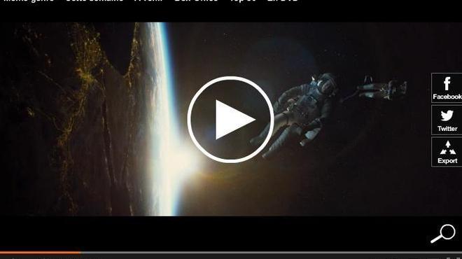 Nouvelle bande-annonce scotchante pour Gravity !
