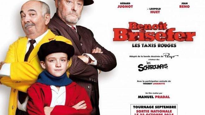 Coup d'envoi du tournage de Benoît Brisefer au Portugal