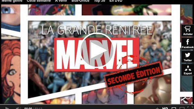 Revivez la Grande rentrée Marvel (Vidéo) !
