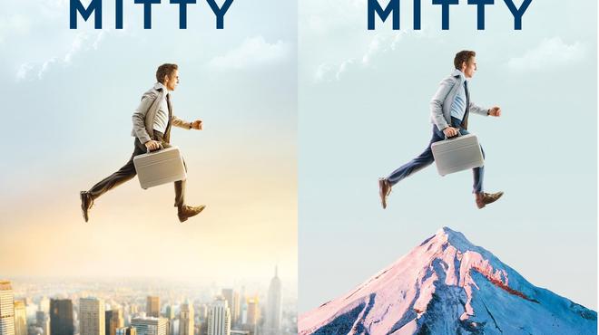 Ben Stiller au quatre coins du monde pour La vie rêvée de Walter Mitty (Affiches)