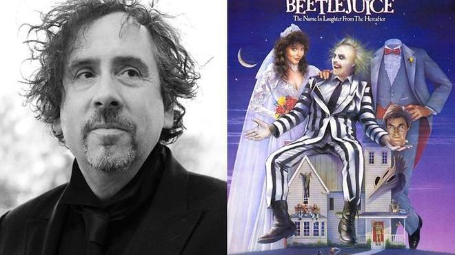 Tim Burton prêt à retrouver Beetlejuice au cinéma