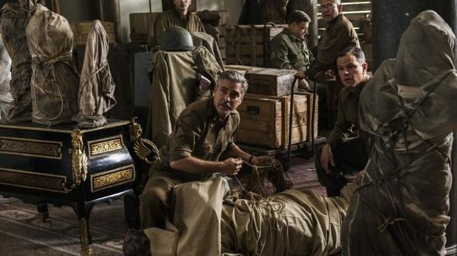 Les Monuments Men de George Clooney n'iront pas aux Oscars