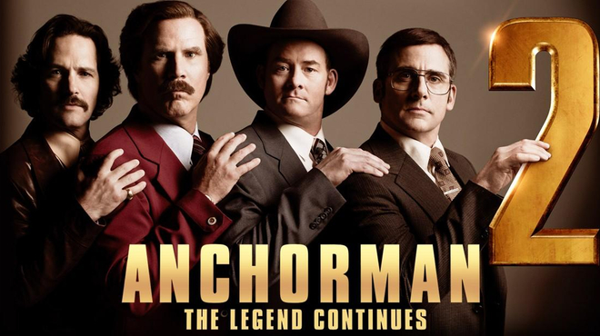 Les Légendes Vivantes d'Anchorman 2 se déchaînent dans une nouvelle bande-annonce