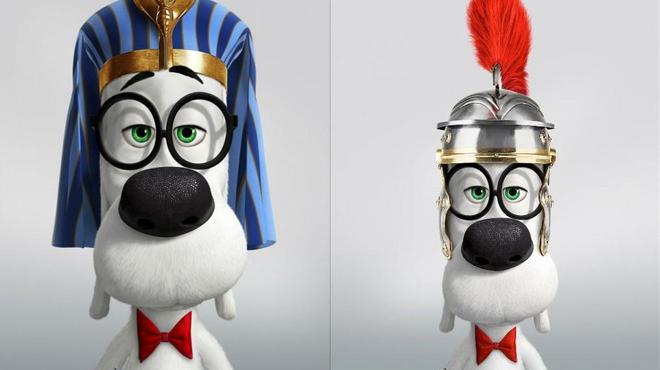 Peabody, le nouveau héros Dreamworks qui a du chien ! (Affiches)