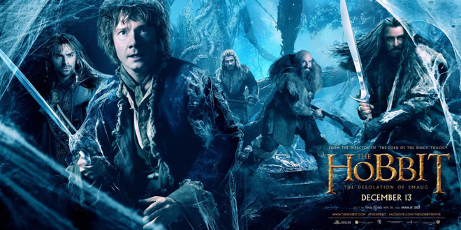 Le Hobbit : la désolation de Smaug s'affiche en grand !
