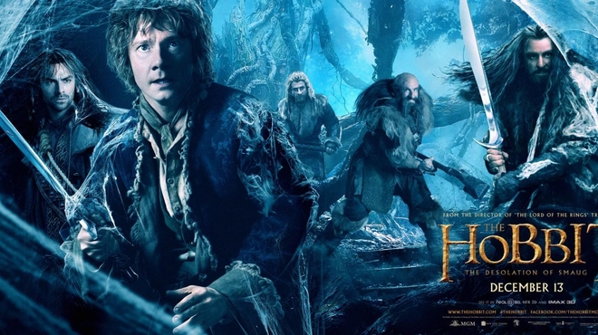 Le Hobbit : la désolation de Smaug s'affiche en grand !