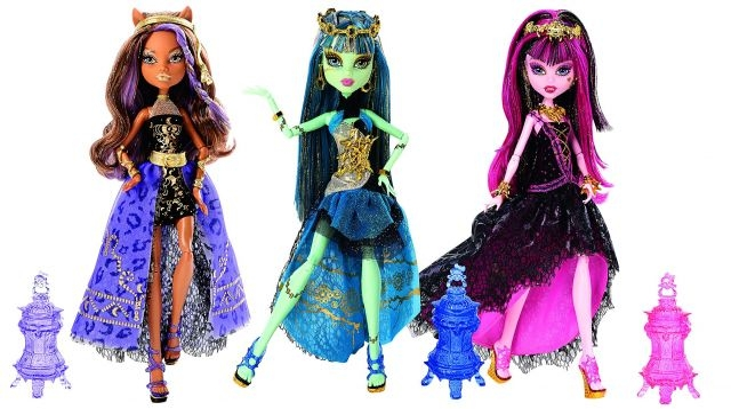 Les poupées de Monster High arrivent sur grand écran