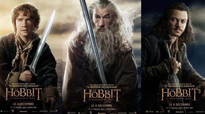 Le Hobbit - La désolation de Smaug : Votez pour votre affiche préférée !