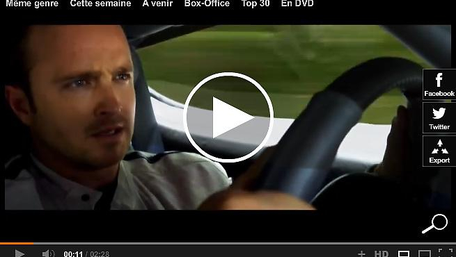 Need for Speed : Aaron Paul pied au plancher (bande-annonce)