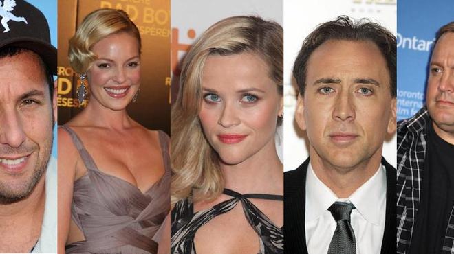 Forbes dévoile le classement des 10 acteurs les moins rentables de 2013