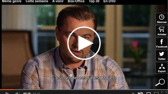 Leonardo DiCaprio et Martin Scorsese se confient sur Le Loup de Wall Street (vidéo)