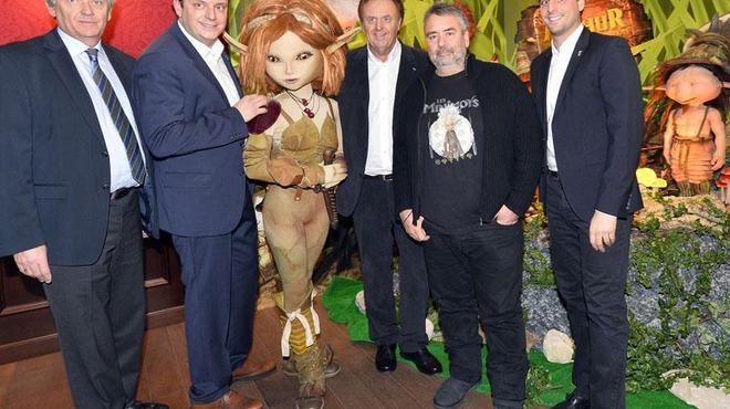 Les Minimoys de Luc Besson envahissent Europa-Park