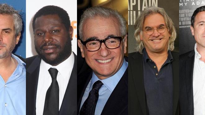 DGA Awards : Cuaron, McQueen et Scorsese, candidats au prix du meilleur réalisateur