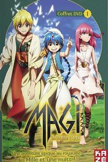 Magi : The Labyrinth of Magic (Saison 1) - 1/2