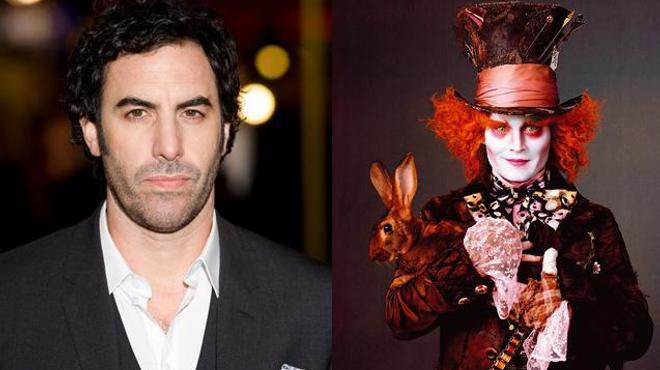 Sacha Baron Cohen retrouve Johnny Depp pour la suite des aventures d'Alice
