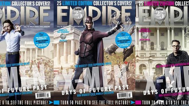 Les héros de X-men : Days of future past prennent la pose ! (Couvertures Empire)