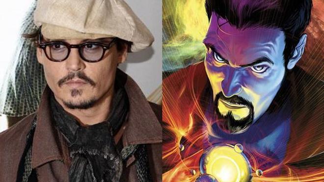 Johnny Depp dans la peau du Docteur Strange ??