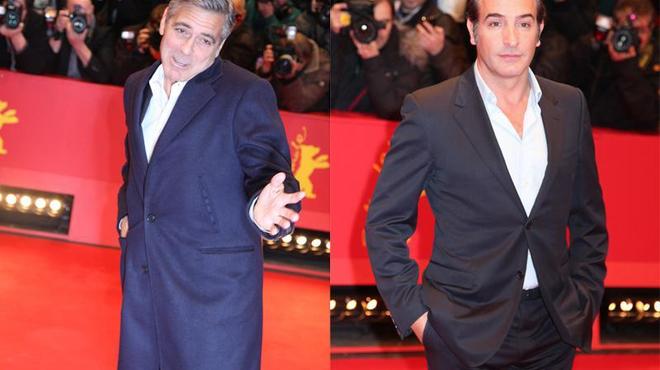 Berlin 2014 : George Clooney joue avec les photographes (photos)