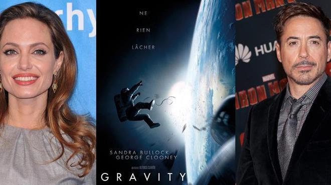 Pourquoi Angelina Jolie et Robert Downey Jr. n'ont pas fait Gravity...