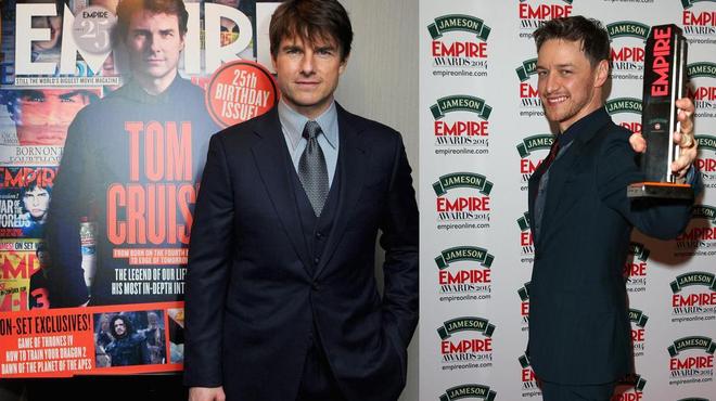 Jameson Empire Awards 2014 : Tom Cruise à l'honneur (Palmarès + photos)