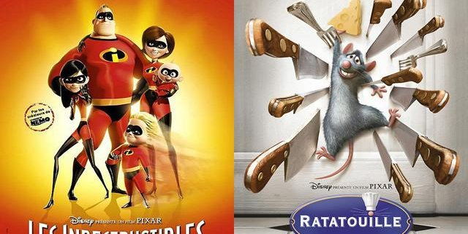 Ratatouille et Les Indestructibles reviennent… en 3D !