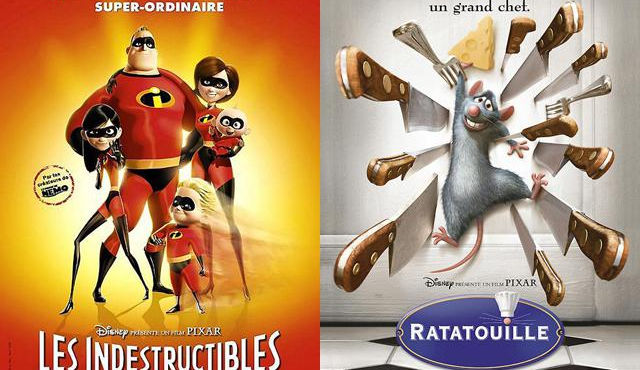Ratatouille et Les Indestructibles reviennent… en 3D !