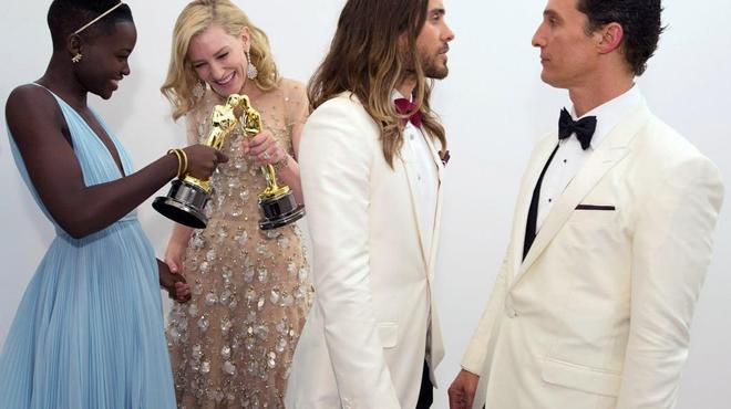 Oscars 2014 : Les plus belles photos de la soirée !