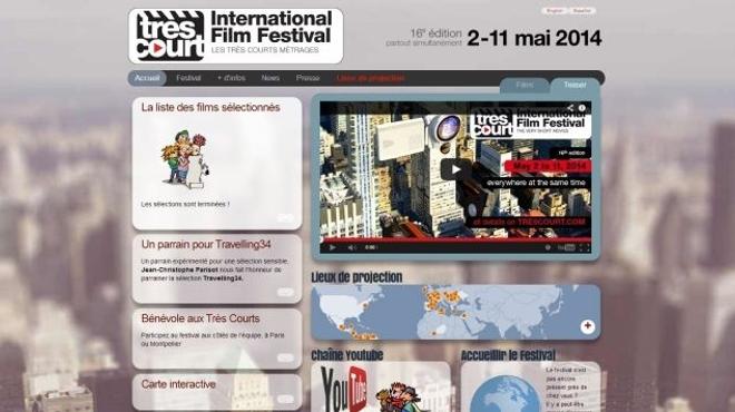Le Très Court International Film Festival 2014 présentera 44 films en compétition