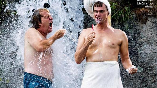 Dumb and Dumber To : Harry et Lloyd sous la douche (Photo)
