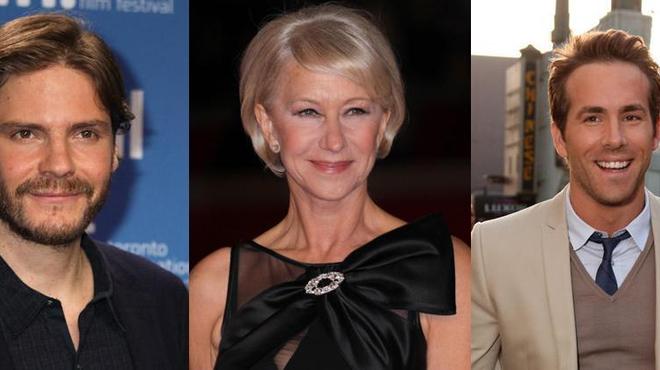 Ryan Reynolds et Daniel Brühl se battront pour la Woman In Gold Helen Mirren