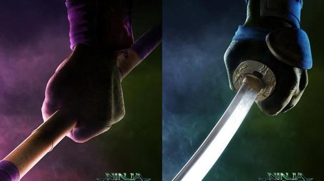 Ninja Turtles : Les héros dégainent les armes ! (Affiches)
