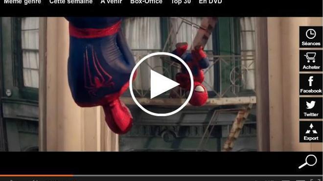 Spider-Man et son mini-lui vus par Evian (vidéo)