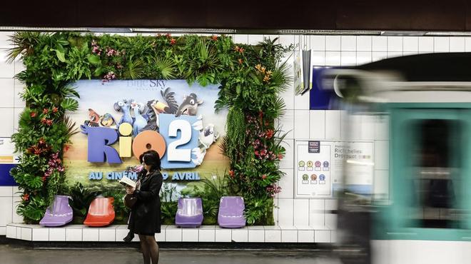 Rio 2 : do Brasil dans le métro !