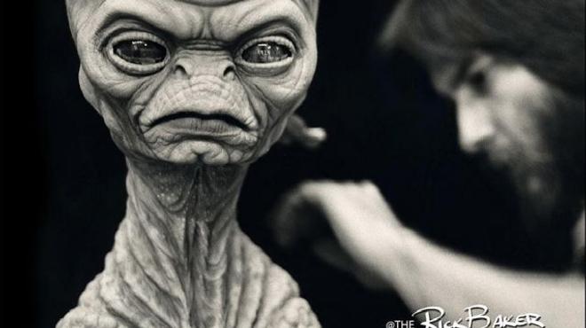 Le maquilleur de Rencontres du troisième type dévoile un nouvel extraterrestre (Photo)