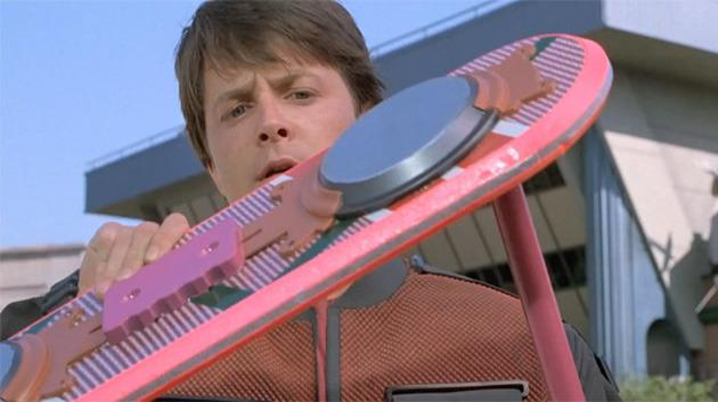 Le hoverboard original de Retour vers le futur 2 mis aux enchères !