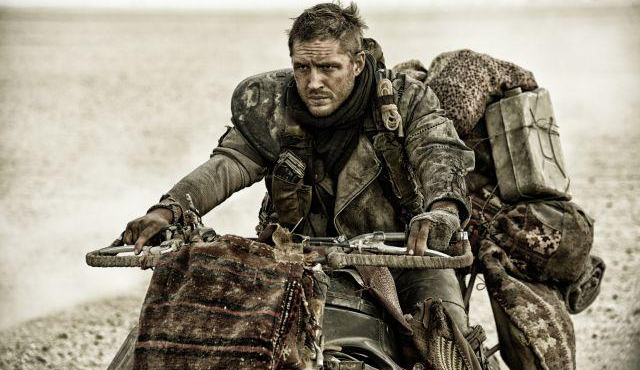 Tom Hardy en motard de l'extrême pour Mad Max : Fury Road (Photo)