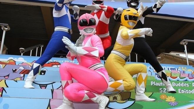 Les Powers Rangers débarquent sur grand écran à l'été 2016