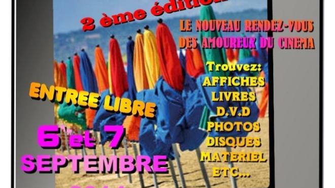 Foires au Cinéma : Venez chiner à Deauville ou Argenteuil en septembre !