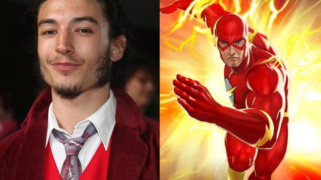 Ezra Miller devient The Flash pour le grand écran